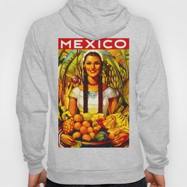 Vintage Bountiful Mexico Travel Hoody