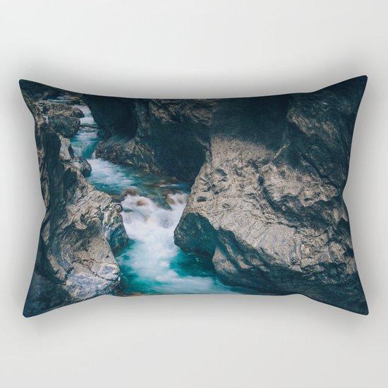 Run With Me Rectangular Pillow