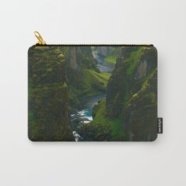 River in the Valley (Color) Carry-All Pouch