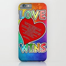 LOVE WINS iPhone 6s Slim Case