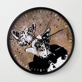 Long Gone Whisper Wall Clock
