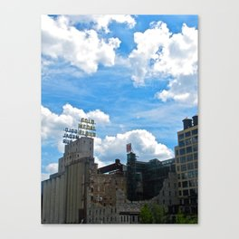 Minneapolis Ruins Canvas Print