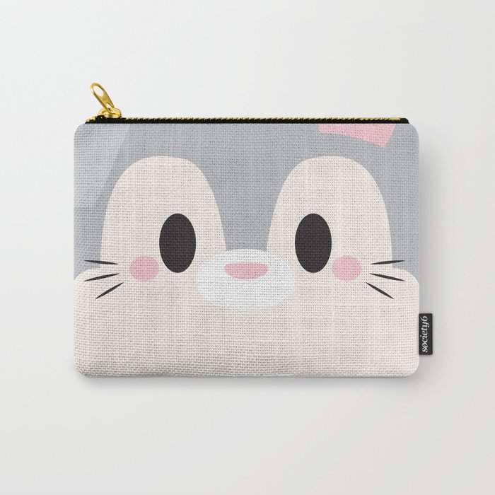 Bunny Block Carry-All Pouch