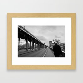 """Der Himmel über """"Paris"""" Framed Art Print"""