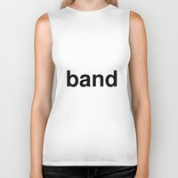 band Biker Tanks featuring band by linguistic94