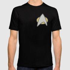 Star Trek, Communicator, 2 Black MEDIUM Mens Fitted Tee