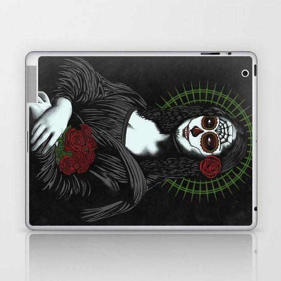Viva La Mona Muerte Lisa Laptop & iPad Skin