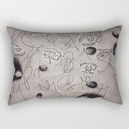 evil eyes Rectangular Pillow