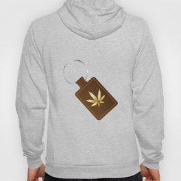 Marijuana Key Fob Hoody