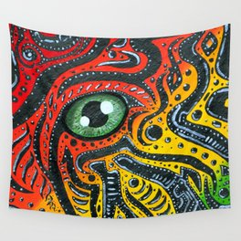 Eye of Africa Wall Tapestry