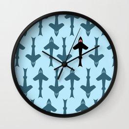 Shark Kite Wall Clock