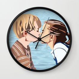 Say Something Wall Clock