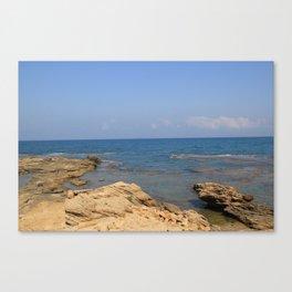 the Mediterranean  Canvas Print