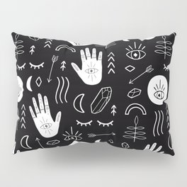 Inverted Witchy Pattern Pillow Sham