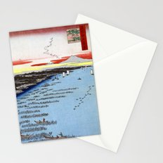 Hiroshige Minami-Shinagawa and Samezu Coast Stationery Cards