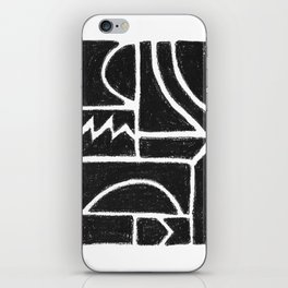 Charcoal Pattern iPhone Skin