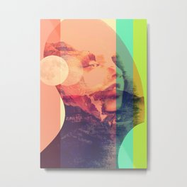 The Girl from Mars Metal Print