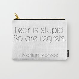 As told by Marilyn #2 Carry-All Pouch