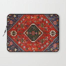 Red & Blue Vintage Bereber Moroccan Bohemian Artwork. Laptop Sleeve