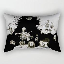 Quod Sumus Hoc Eritis Rectangular Pillow
