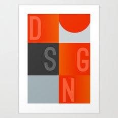 DSGN Art Print