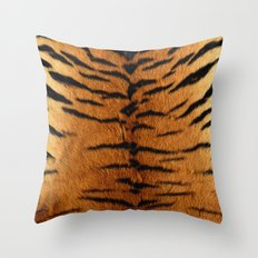 Haute Tiger Throw Pillow