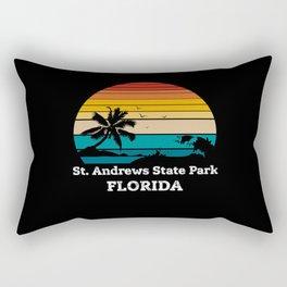 St. Andrews State Park FLORIDA Rectangular Pillow