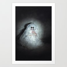 The Abandoned Art Print