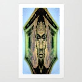 Funny Money II Art Print