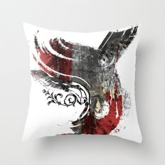 Flying Wind Throw Pillow