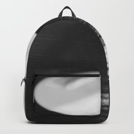 Record (Black and White) Backpack