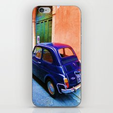 Blue Car 2 iPhone & iPod Skin
