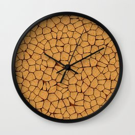 Parched Wall Clock