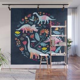 Dinosaur Delight Wall Mural