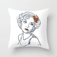 1930's Actress Alice White  Throw Pillow