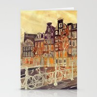 takmaj Stationery Cards featuring Amsterdam by takmaj