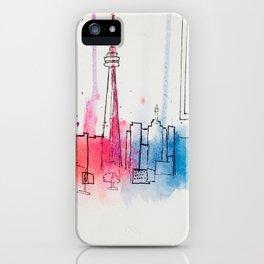 Toronto Harbour iPhone Case