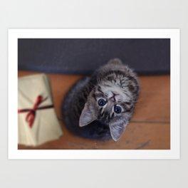 Mini meow! Art Print