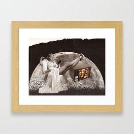 skull tv! Framed Art Print