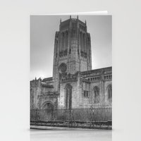 liverpool Stationery Cards featuring Liverpool Cathedral by Abi Booth