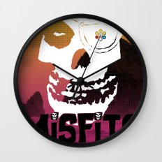 Misfits always say die... Wall Clock