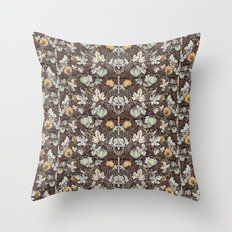 Winter Pumpkins Throw Pillow