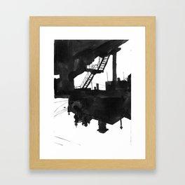 Railway VII Framed Art Print