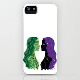 nature and space iPhone Case