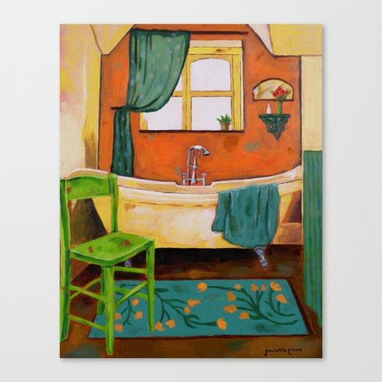 Bathroom Canvas Print