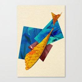 Natural Balance - The Fish Canvas Print