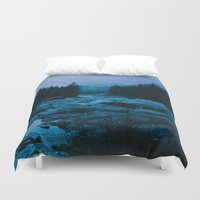 west coast Duvet Covers featuring West Coast by ILIA PHOTO + CINEMA