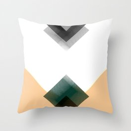 Geometric composition 1 Throw Pillow