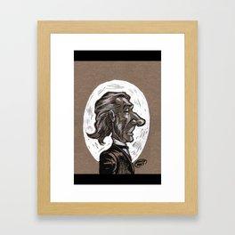 Victorian Profile_1 Framed Art Print