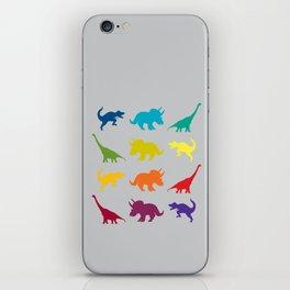 Dino Parade 2 iPhone Skin